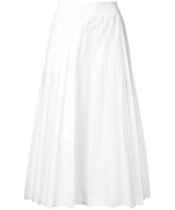 Muveil | Pleated Cropped Trousers 36 Polyester