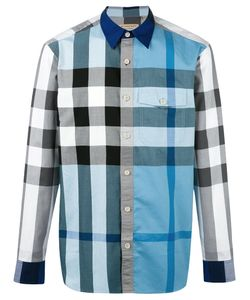 Burberry | Checked Shirt Large Cotton