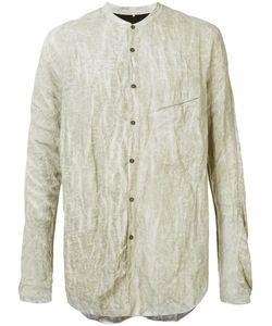 ZIGGY CHEN | Ruched Effect Shirt 48 Cotton/Metal