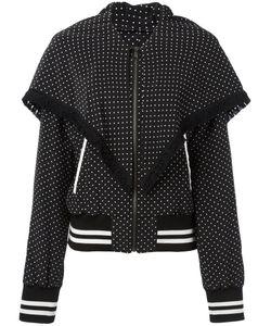 Dolce & Gabbana | Polka-Dot Fringed Bomber Jacket 44