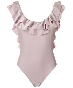 Adriana Degreas | Ruffled Swimsuit Medium Polyamide/Spandex/Elastane