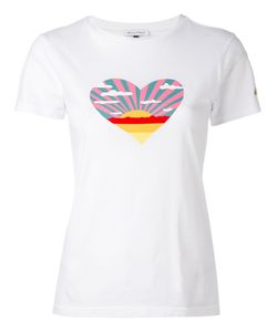 Bella Freud   Sunset Heart T-Shirt