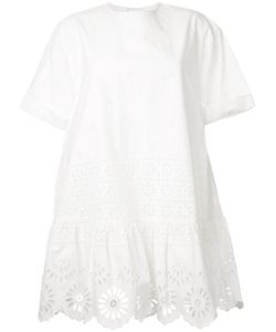 Sea | Exploded Eyelet T-Shirt Dress 8 Cotton