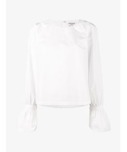 Frame Denim | Voluminous Cuff Blouse Size Large