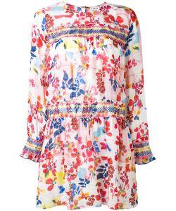 TANYA TAYLOR | Платье С Цветочным Принтом