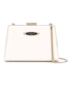 Lanvin | Compact Angular Crossbody Bag Calf Leather/Goat Skin
