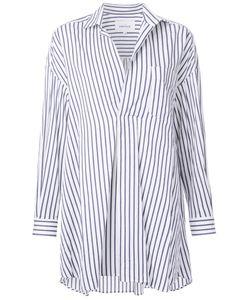 ENFÖLD | Enföld Front Pleat Striped Shirt 38 Cotton