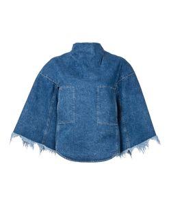 Toga | Chest Pockets Denim Blouse 36 Cotton