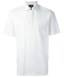 Emporio Armani   Logo Patch Polo Shirt Xl Cotton