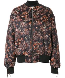 Iro | Print Bomber Jacket 36 Cotton/Polyester