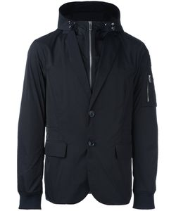 Emporio Armani | Zip Up Hooded Jacket Large Polyester
