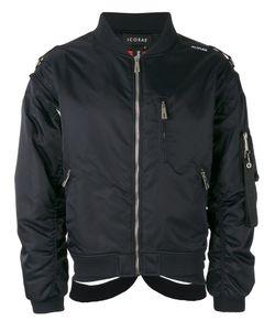 Icosae | Classic Bomber Jacket Large Nylon/Cupro