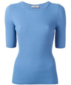 SportMax | Ribbed Knit T-Shirt Size Large