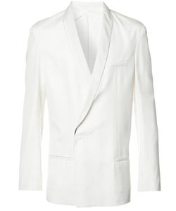 Haider Ackermann | Shawl Lapel Crossed Blazer 50 Cotton/Rayon/Viscose/Acetate