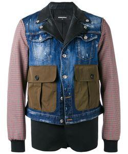 Dsquared2 | Многослойная Куртка С Накладными Карманами