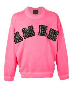 Amen   Logo Sweatshirt Size