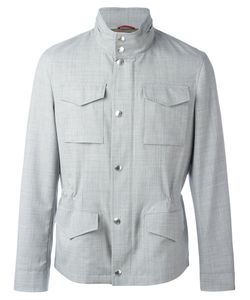 Brunello Cucinelli | High Neck Buttoned Jacket