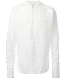 GREG LAUREN | Tux Shirt 3 Linen/Flax
