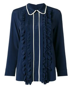 Marni | Ruffled Blouse 40 Acetate/Silk