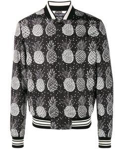 Dolce & Gabbana | Pineapple Print Bomber Jacket Size 50