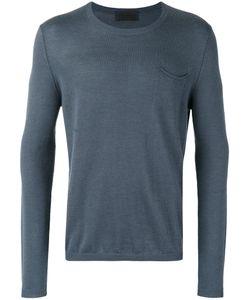 IRIS VON ARNIM | Plain Sweatshirt Large Cashmere/Linen/Flax