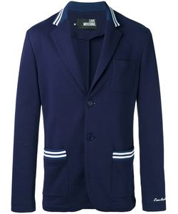Love Moschino | Two Button Blazer Medium Cotton/Polyester/Spandex/Elastane/Cotton