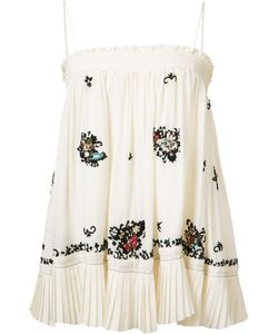 Derek Lam 10 Crosby | Embroidered Skirt Blouse Size 8