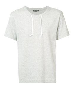 COMME DES GARCONS HOMME PLUS | Comme Des Garçons Homme Plus Drawstring Neck T-Shirt Size Medium
