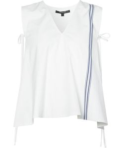 Derek Lam | Striped Detail Sleeveless Blouse
