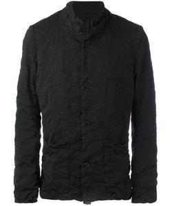 Poème Bohèmien | Poème Bohémien High Neck Lightweight Jacket 48 Cotton/Linen/Flax/Spandex/Elastane