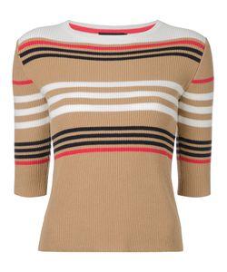LOVELESS | Striped Jumper 36 Cotton/Nylon/Rayon