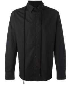 CRAIG GREEN | Drawstring Collar Shirt Large Cotton