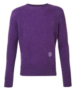 The Elder Statesman | Cashmere Monogram Jumper Adult Unisex Xxs