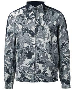 KAZUYUKI KUMAGAI | Leaves Print Zipped Jacket