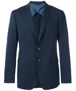 Tonello | Flap Pockets Blazer 52 Cupro/Virgin Wool/Spandex/Elastane