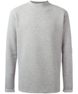 Journal | Ribbed Detail Sweatshirt Medium Cotton/Polyester