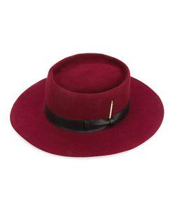 NICK FOUQUET   The Vespar Hat Silk/Leather/Beaver Fur/Wool