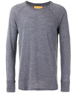 Journal | Plain Sweatshirt Large Wool/Viscose/Linen/Flax