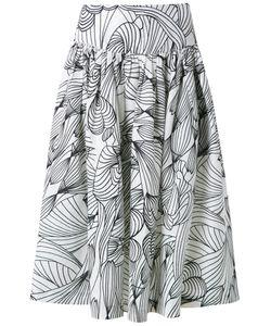Isolda | Flared Midi Skirt 42