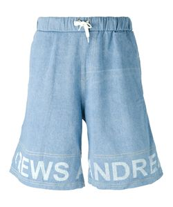 Andrea Crews   Frayed Sweatpants Large Cotton