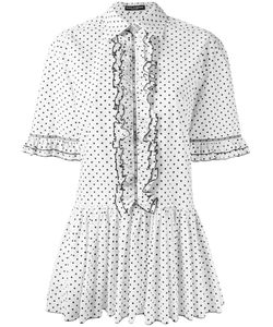 Dolce & Gabbana | Polka Dot Shirt Dress Size 42