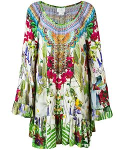 Camilla | Printed Long Sleeve Dress Size Xs