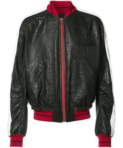 Haider Ackermann | Leather Bomber Jacket Large Cotton/Leather/Rayon/Viscose