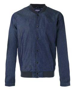 Woolrich | Denim Bomber Jacket Size Medium