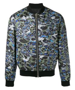 Les Hommes | Printed Bomber Jacket Size 50