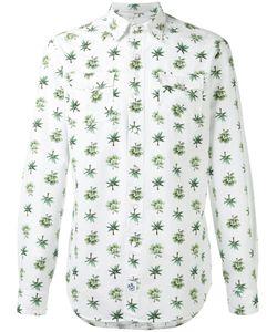 Hydrogen   Tree Print Shirt Large Cotton