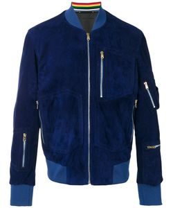 Paul Smith | Zip Pocket Bomber Jacket Xl Suede