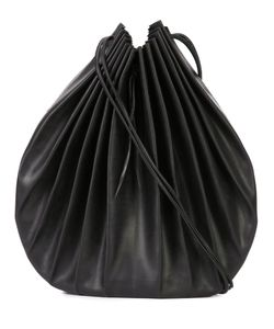 MA+ | Pleated Shoulder Bag Leather