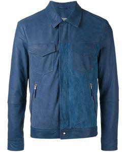 Eleventy   Panel Zipped Jacket Size 56