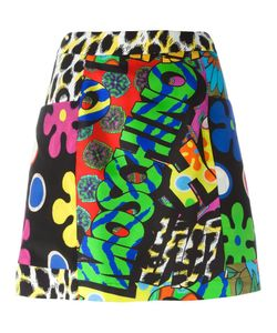 Moschino | Printed A-Line Skirt 44 Rayon/Other Fibers/Silk